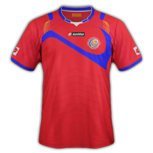 Costa Rica 2014 maillot foot domicile coupe du monde صور تيشرتات كل منتخبات كأس العالم 2014