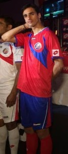 Costa Rica maillot football domicile coupe du monde 2014