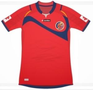 Costa Rica maillot foot domicile 2014