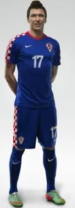 Croatie extérieur 2014 maillot coupe du monde officiel