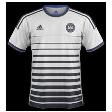 Danemark 2014 2015 maillot foot extérieur