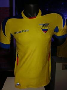Maillot Equateur 2014 domicile coupe du monde 2014