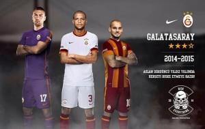 Galatasaray 2014 2015 maillots de foot