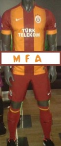 maillot de foot domicile Galatasaray 2015