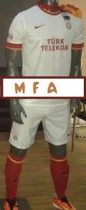 maillot de foot extérieur Galatasaray 2015