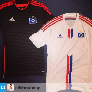 Hambourg 2015 HSV maillots de football