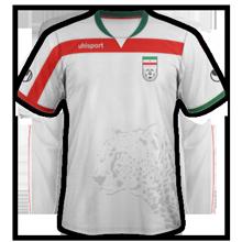 Iran maillot foot domicile 2014