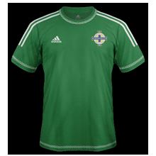Irlande Du Nord 2015 maillot domicile