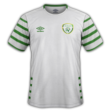 Irlande Euro 2016 maillot exterieur foot