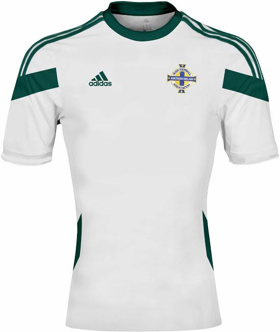 Irlande du nord 2014 maillot extérieur