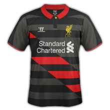 Liverpool 2015 maillot foot third