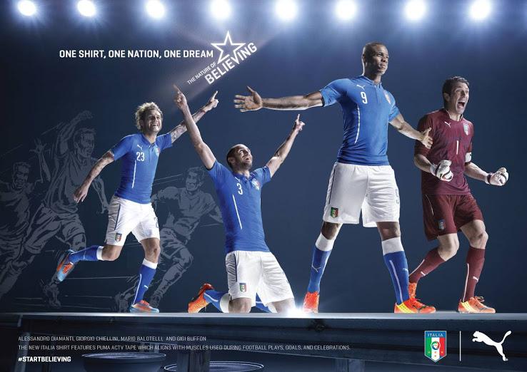 Maillot Italie 2014 coupe du monde de football
