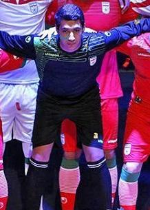Maillot gardien Iran 2014