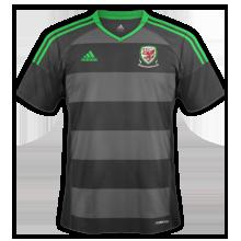Pays De Galles Euro 2016 maillot exterieur