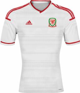 Pays de Galles maillot foot extérieur 2014