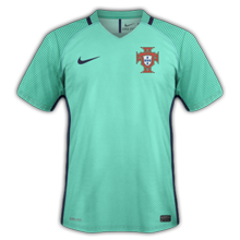 Portugal Euro 2016 maillot exterieur football