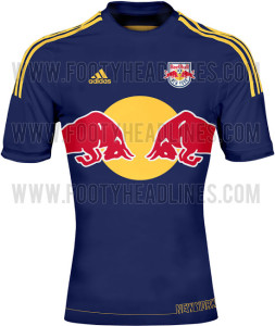 Red Bull New York 2014 maillot extérieur