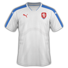 Republique Tcheque Euro 2016 maillot exterieur football