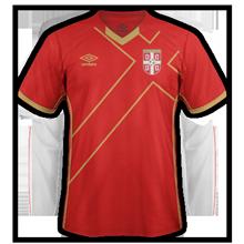 Serbie 2015 maillot foot domicile