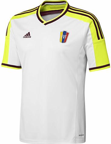 Venezuela 2014 maillot extérieur