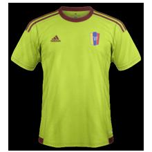 Venezuela 2016 maillot exterieur Copa America 2016