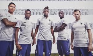 maillot extérieur France 2014 coupe du monde officiel