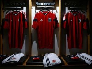 officiel Colombie maillot extérieur 2014