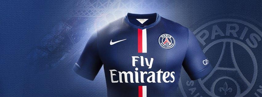 PSG 2015 maillot domicile officiel présentation