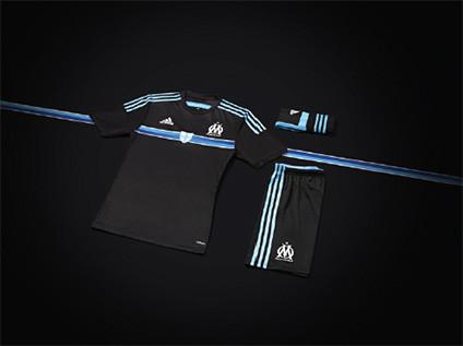 tenue football Marseille third OM 2015