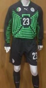 Algérie 2014 maillot gardien coupe du monde