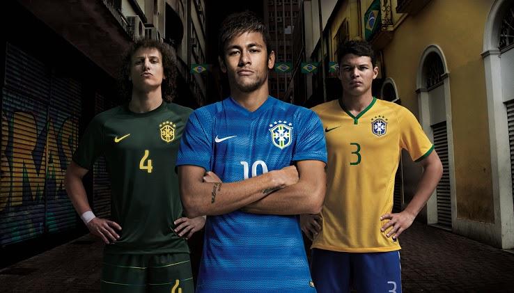 Maillots football Brésil coupe du monde 2014