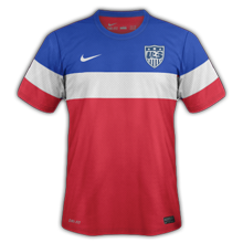 Etats-Unis 2014 maillot foot extérieur coupe du monde 2014