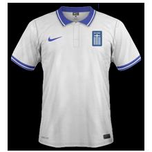 Grèce maillot domicile coupe du monde 2014