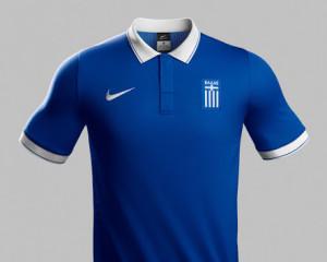 maillot Grèce extérieur 2014 coupe du monde