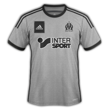 OM maillot exterieur foot Marseille 2015