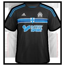 OM troisieme maillot third foot Marseille 2015