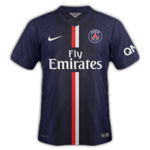 PSG 2015 maillot domicile foot