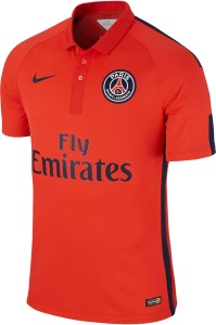 PSG 2015 maillot rouge third 2014 2015 Paris
