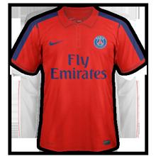 PSG 2015 third troisième maillot foot