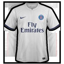 Paris 2015 maillot extérieur football