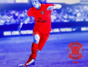 Paris Saint Germain 2015 maillot foot third David Luiz