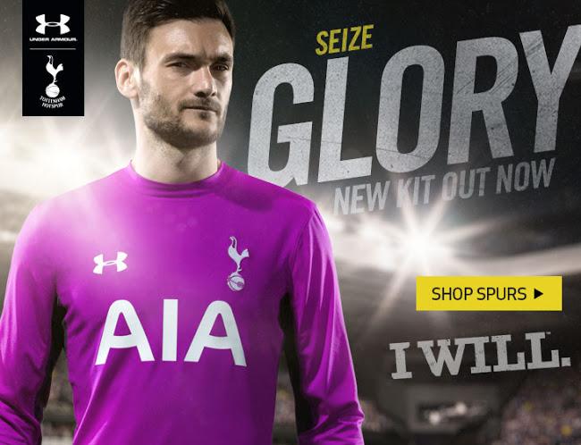 Tottenham 2015 maillot Hugo Lloris gardien violet