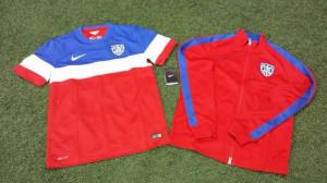 USA 2014 maillot foot extérieur coupe du monde 2014