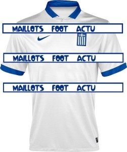 maillot domicile Grèce 2014 coupe du monde