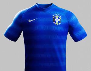 Maillot extérieur Brésil 2014 coupe du monde 2014