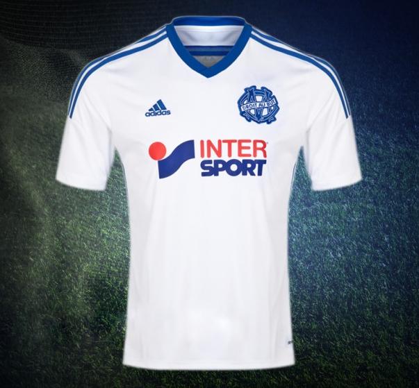 Maillot Domicile Olympique de Marseille ÉQUIPE