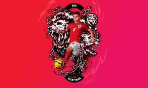 Angleterre 2014 Wilshere Nike Risk Everything