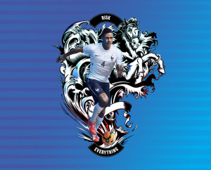 France 2014 Varane Nike Risk Everything