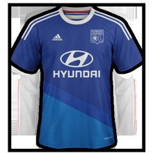 Lyon 2015 maillot foot exterieur