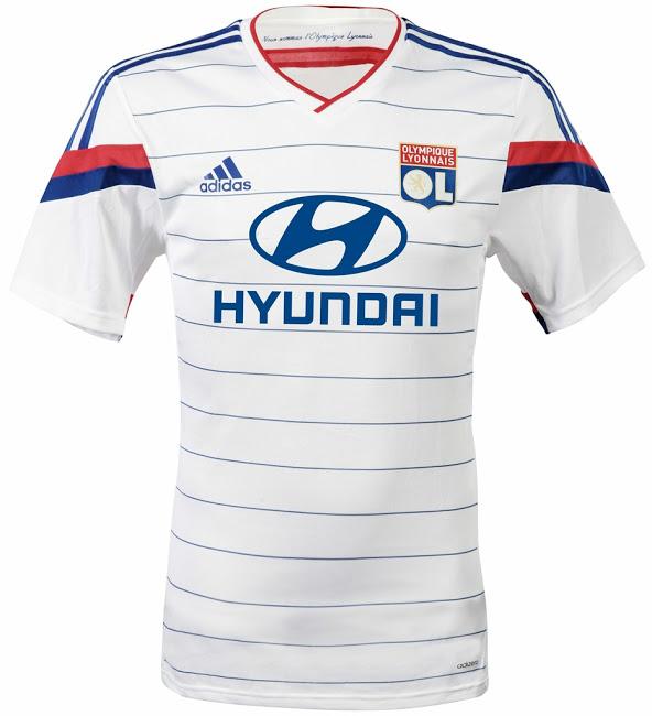 tenue de foot Olympique Lyonnais noir